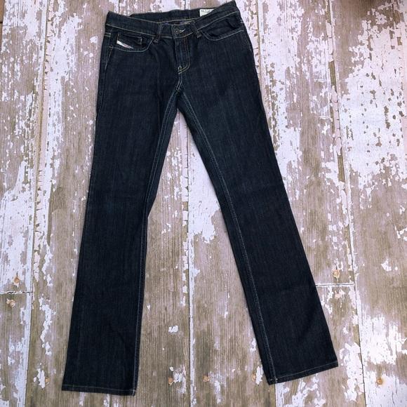 Diesel Denim - Diesel Liv Dark Wash Stretch Jeans Skinny 27